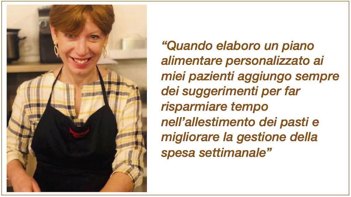 La Nutrizionista Dott.ssa Paola Proietti Cesaretti pronta a cucinare by thewealthyspoon