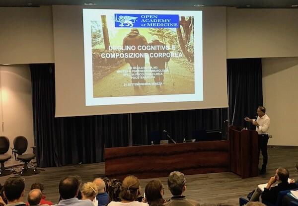 Open Academy of Medicine a Mestre Settembre 2019 Lezione sul Declino Cognitivo