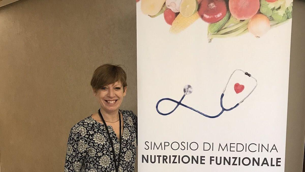 Poster of the Symposium of Functional Nutrition Medicine in Rome November 2019 and the Nutritionist Dr. Paola Proietti Cesaretti by thewealthyspoon