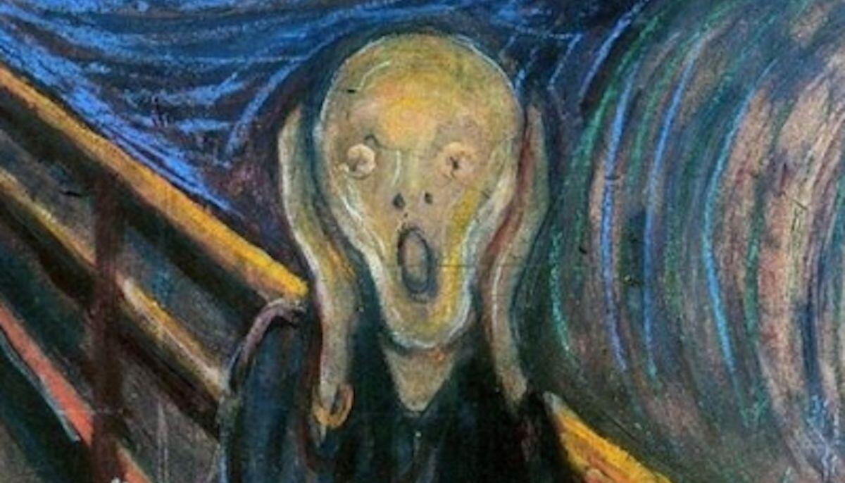 Celeberrima espressione tratta dal dipinto di Munch: lo stress ci può portare a questo? una patologia che la Nutrizionista Dott.ssa Paola Proietti Cesaretti può aiutare a mitigare by thewealthyspoon
